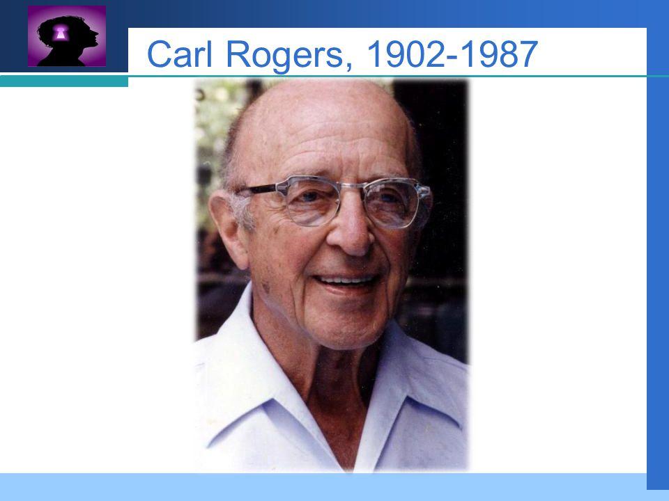 Company LOGO Carl Rogers, 1902-1987