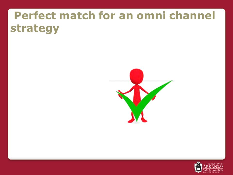 Perfect match for an omni channel strategy