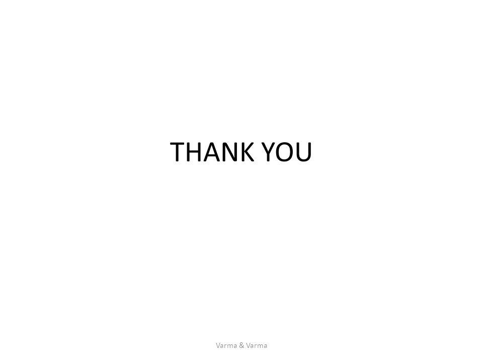 THANK YOU Varma & Varma