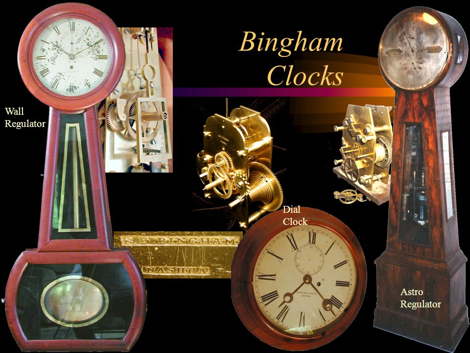 Bingham Clocks Wall Regulator Astro Regulator Dial Clock