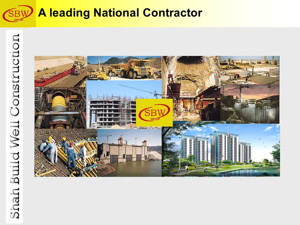 A leading National Contractor