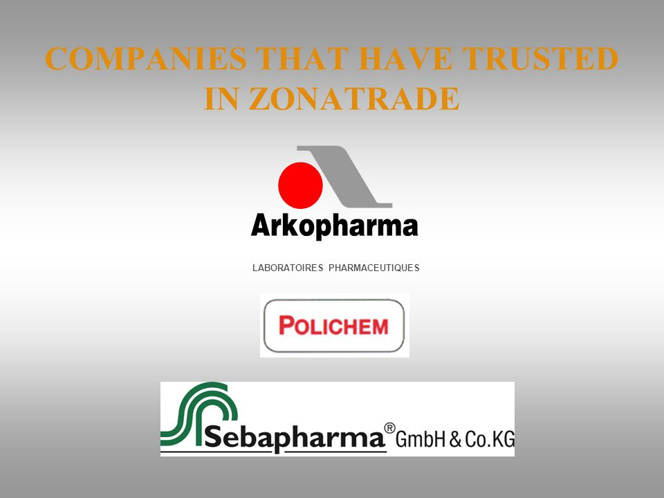 COMPANIES THAT HAVE TRUSTED IN ZONATRADE LABORATOIRES PHARMACEUTIQUES