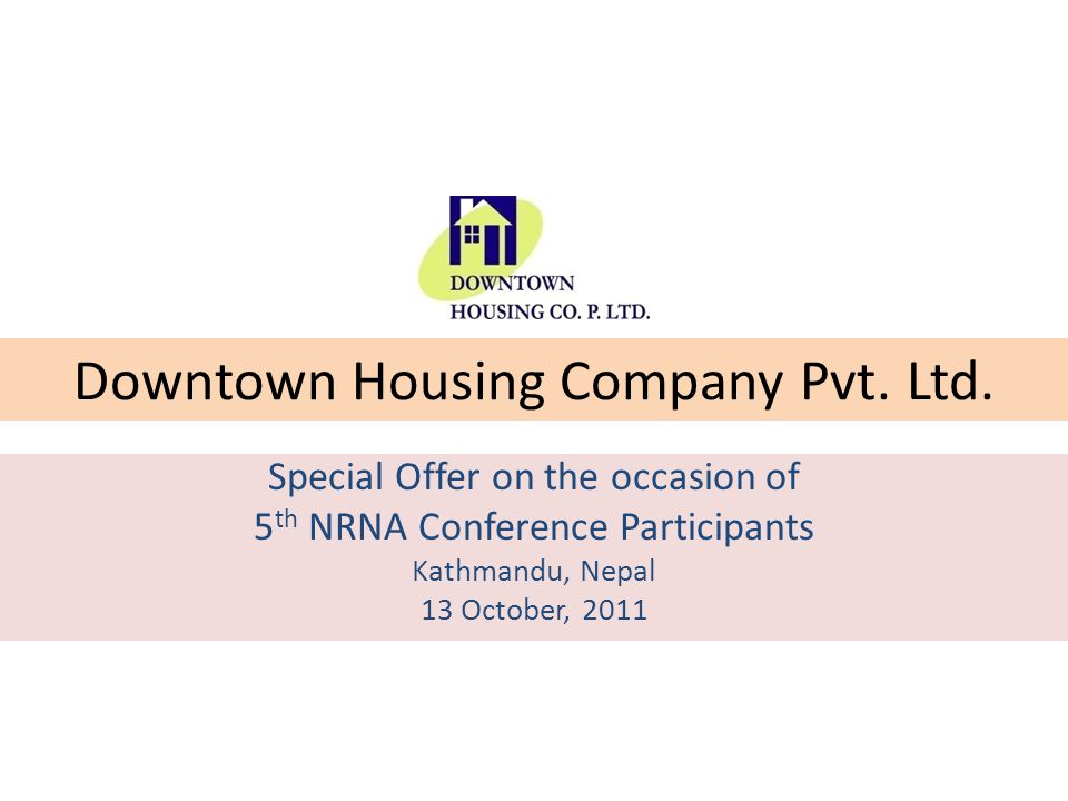 Downtown Housing Company Pvt. Ltd.