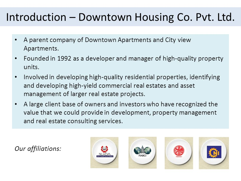 Introduction – Downtown Housing Co.Pvt. Ltd. Location: Khumaltar, Dhapakhel No.