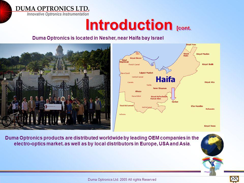 Copyright Duma Optronics Ltd.