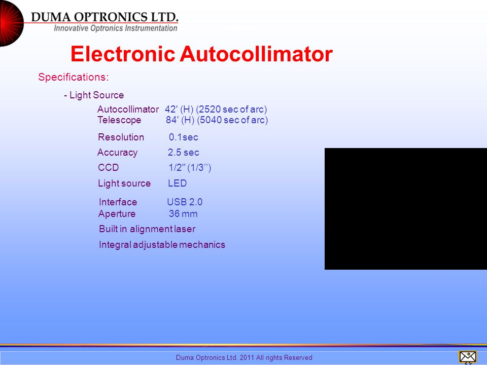 Duma Optronics Ltd.