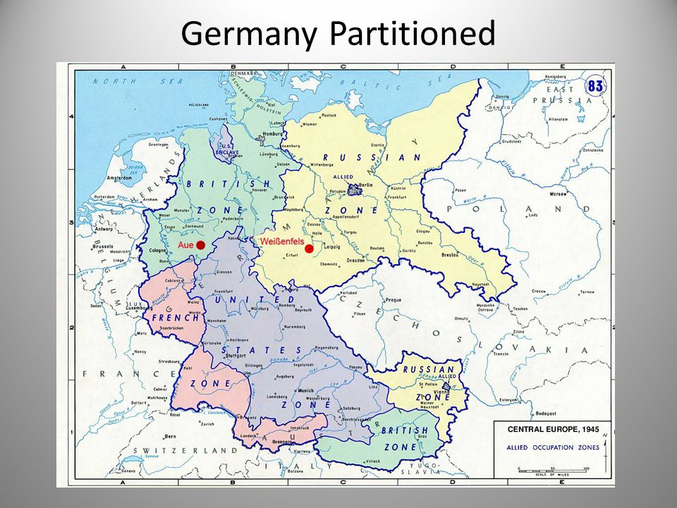 Germany Partitioned