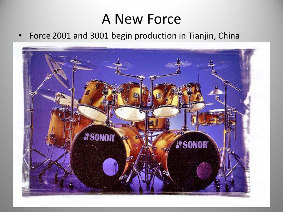 A New Force Force 2001 and 3001 begin production in Tianjin, China