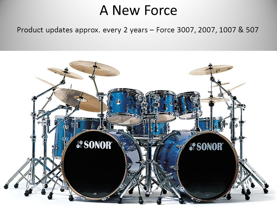 A New Force Product updates approx. every 2 years – Force 3007, 2007, 1007 & 507