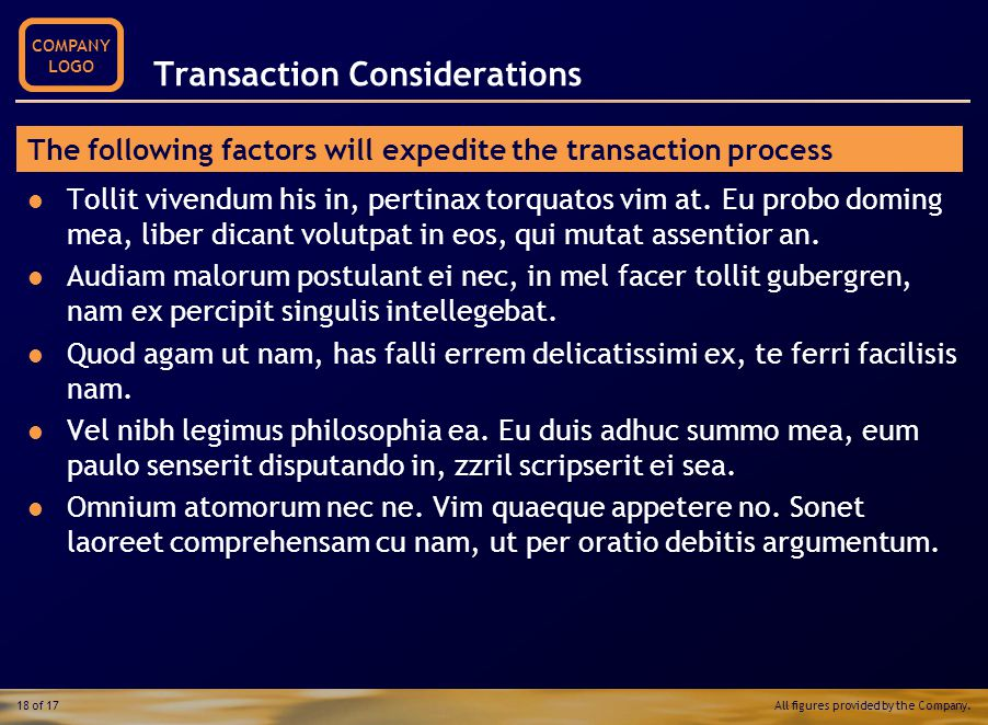 Growth Drivers Operations Financial Performance Web Statistics 'Same Store' Analysis Growth Drivers Transaction Considerations