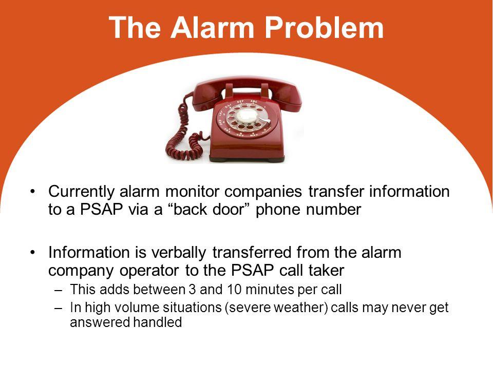 ASAP and APCO/ANSI Alarm Exchange