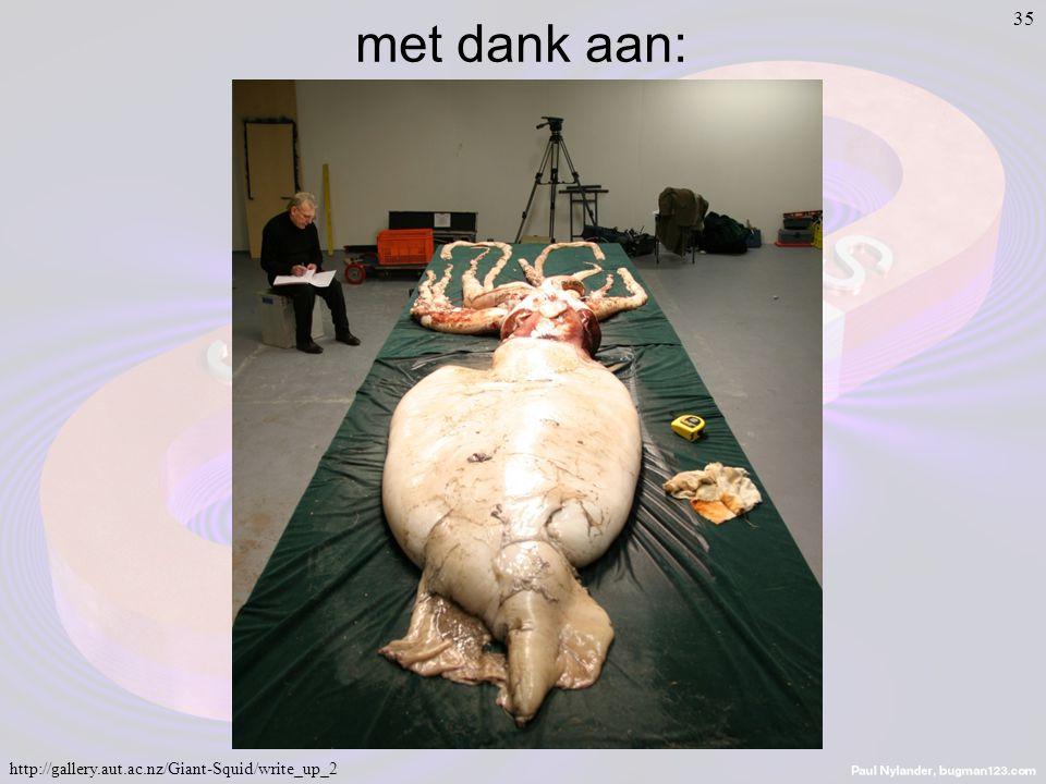 35 http://gallery.aut.ac.nz/Giant-Squid/write_up_2 met dank aan: