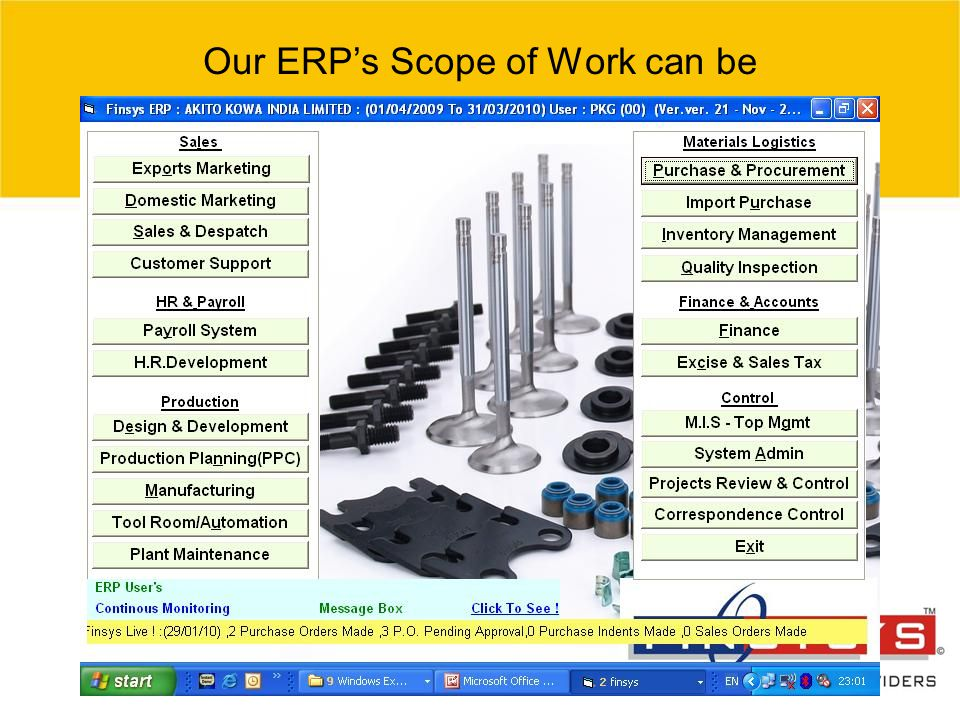 © 2007 Grant Thornton India Pvt. Ltd. All rights reserved. 25 Our ERP's Scope of Work can be