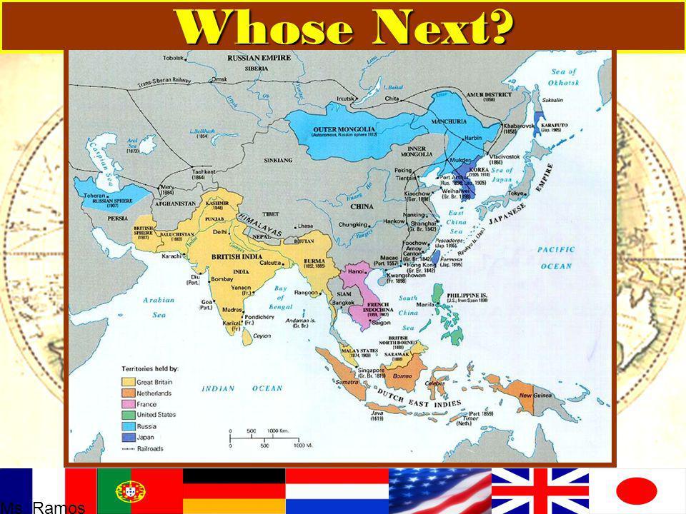 ASIA Whose Next? Ms. Ramos
