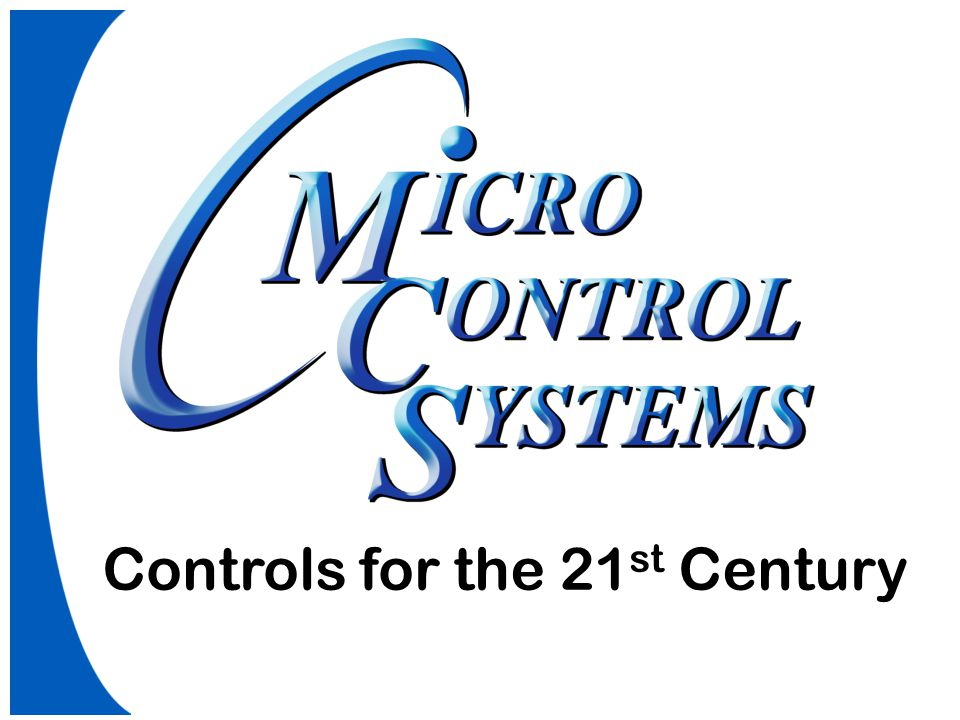 Controls for the 21 st Century
