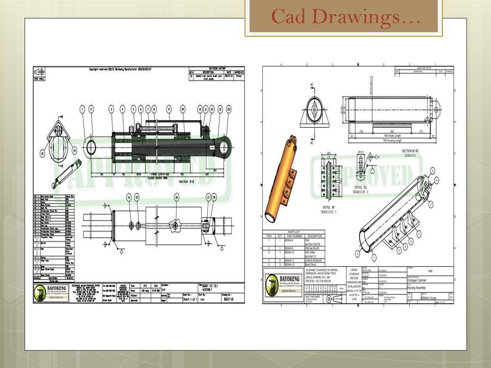 Cad Drawings…