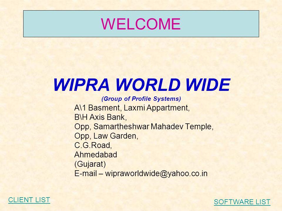 AUTOSOFT CLIENT LIST (HERO HONDA) Mahalaxmi Auto – Ahmedabad (Authorised Dealer) NooraDoosa Petrolium – Surat (Authorised Dealer) J.