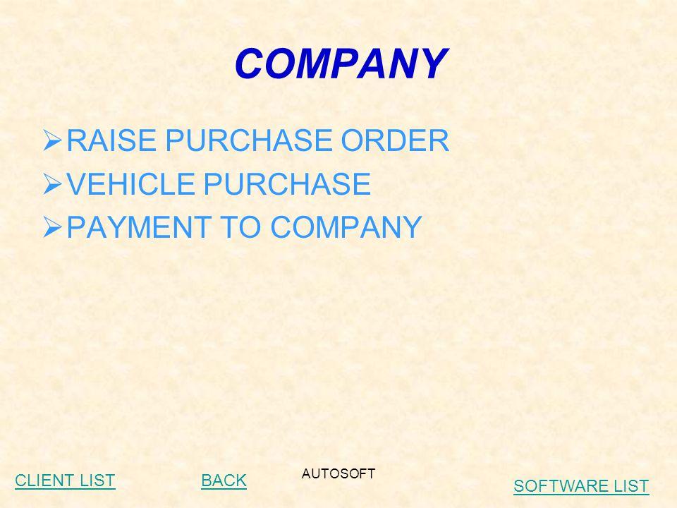 AUTOSOFT CLIENT LIST (HERO HONDA) Care Auto – Idar (Authorised S.S.P) Raghaswami Automobiles – Kadi (Authorised S.S.P) Patel Services – Jasdan (Authorised S.S.P) Galaxy Automobiles – Bajava (Baroda) (Authorised S.S.P) Kalvin Motors – Dhoraji (Authorised S.S.P) Shivani Bikes – Ahmedabad (Authorised S.S.P) Shree Nand Auto – Dehgam (Authorised S.S.P) Pavan Auto – Modasa (Authorised S.S.P) Maheta Auto – Umargaon (Authorised S.S.P) Vishal Auto – Keshod (Authorised S.S.P)