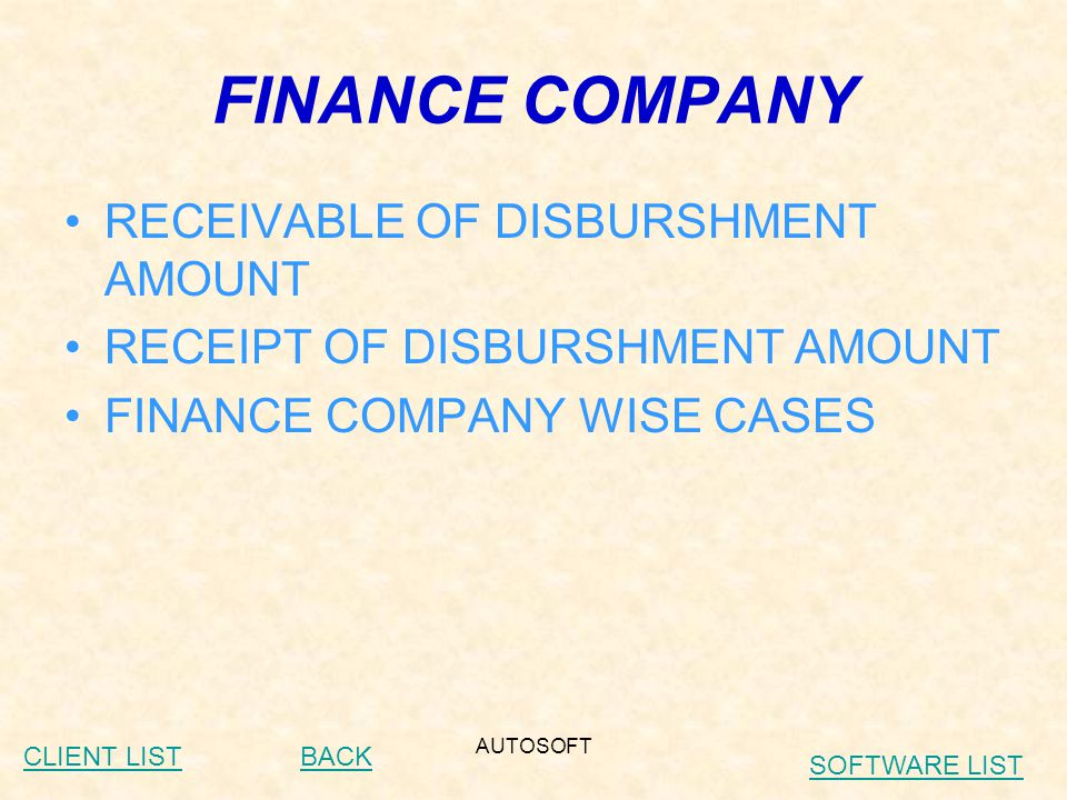 AUTOSOFT STOCK (spares) DIRECTLY LINK WITH –COUNTER SALES –JOB CARD MATERIAL ISSUE –SPARES PURCHASE –SPARES PURCHASE ORDER STOCK JV INTER GODOWN TRANSFER STOCK REPORTS STOCK VALUATION REPORTS BACKCLIENT LIST SOFTWARE LIST