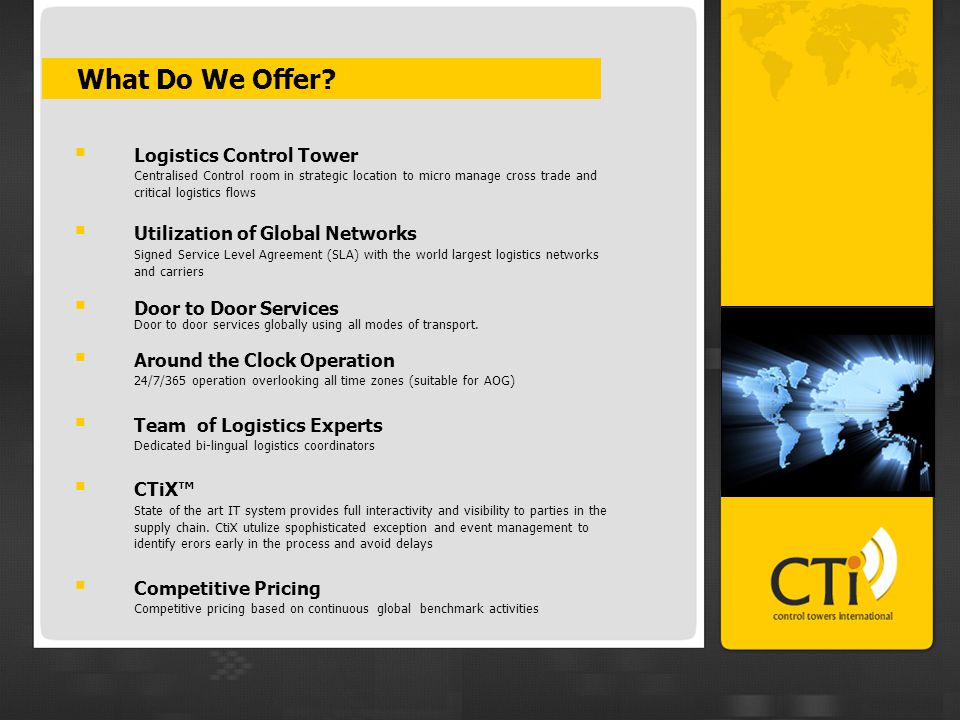 CTiX™ Interfaces CTiX™