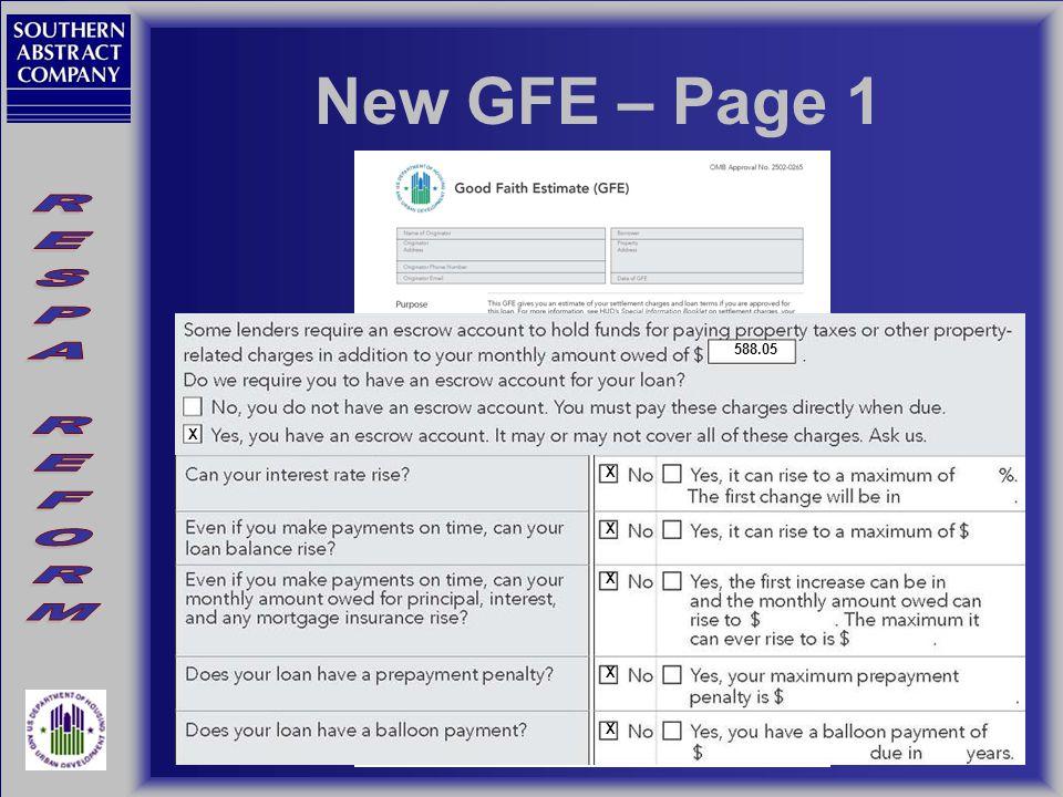 New GFE – Page 1 108,000.00 30 5.125 588.05 X X X X X X