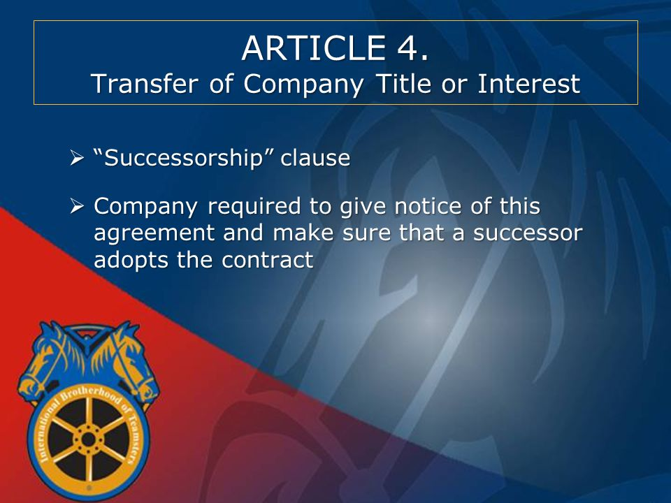 Article 5.