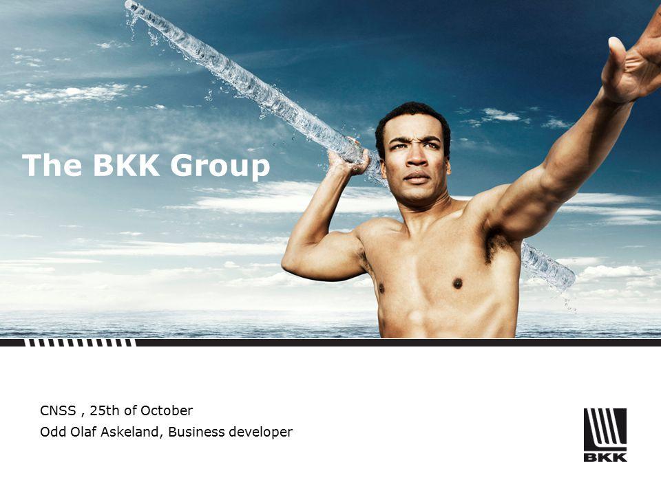 The BKK Group CNSS, 25th of October Odd Olaf Askeland, Business developer
