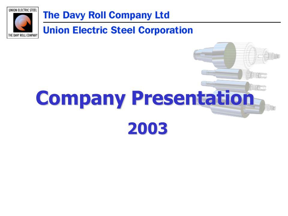 Company Presentation 2003 2003