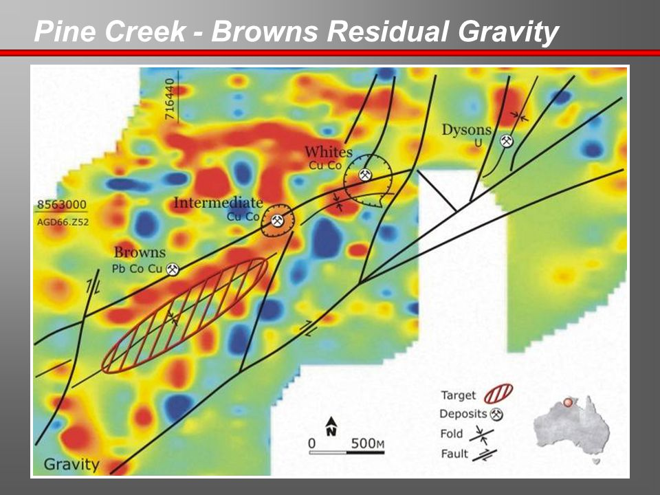 Pine Creek - Browns Residual Gravity