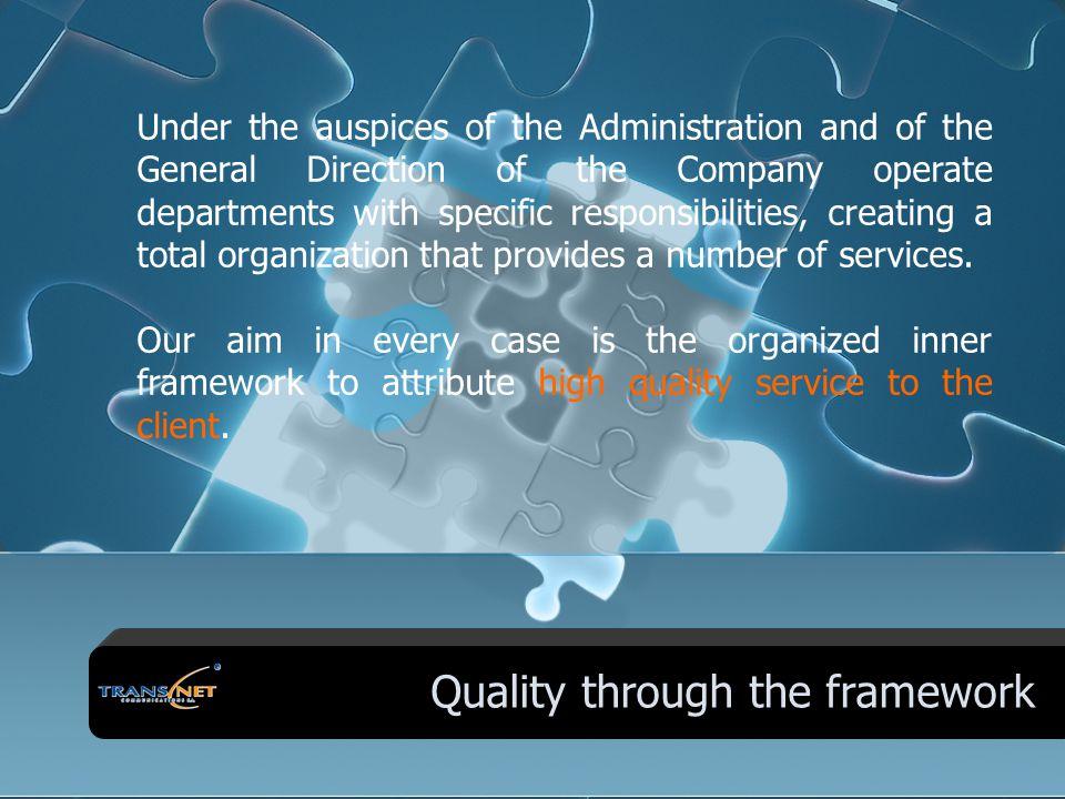 Company's Organizational Chart