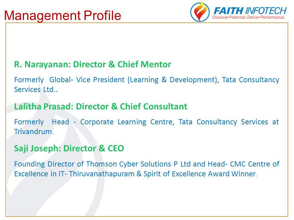 Management Profile R.