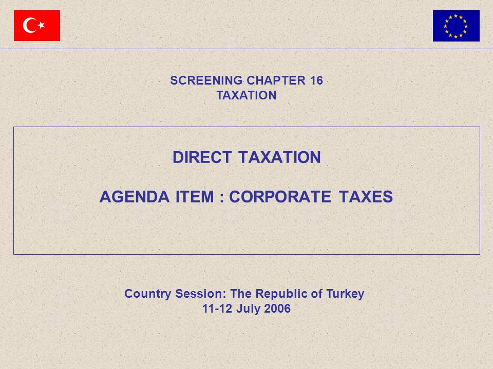 11-12 July 2006 32 The Republic of TURKEY Exchange of Shares(1/4) Definition:  Exchange of shares is an operation whereby a fully liable equity company acquires a holding in the capital of another equity company such that it obtains the majority in the management and capital stock of that company, in exchange for the pro-rata issue to the shareholders of the latter company securities representing the capital of the former company, and if applicable a cash payment not exceeding 10% of the nominal value of those securities (Art.19/3-c).