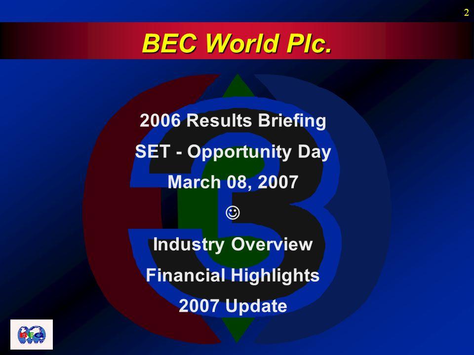 2 BEC World Plc.