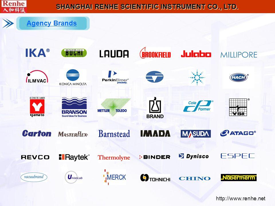 http://www.renhe.net SHANGHAI RENHE SCIENTIFIC INSTRUMENT CO., LTD. Agency Brands