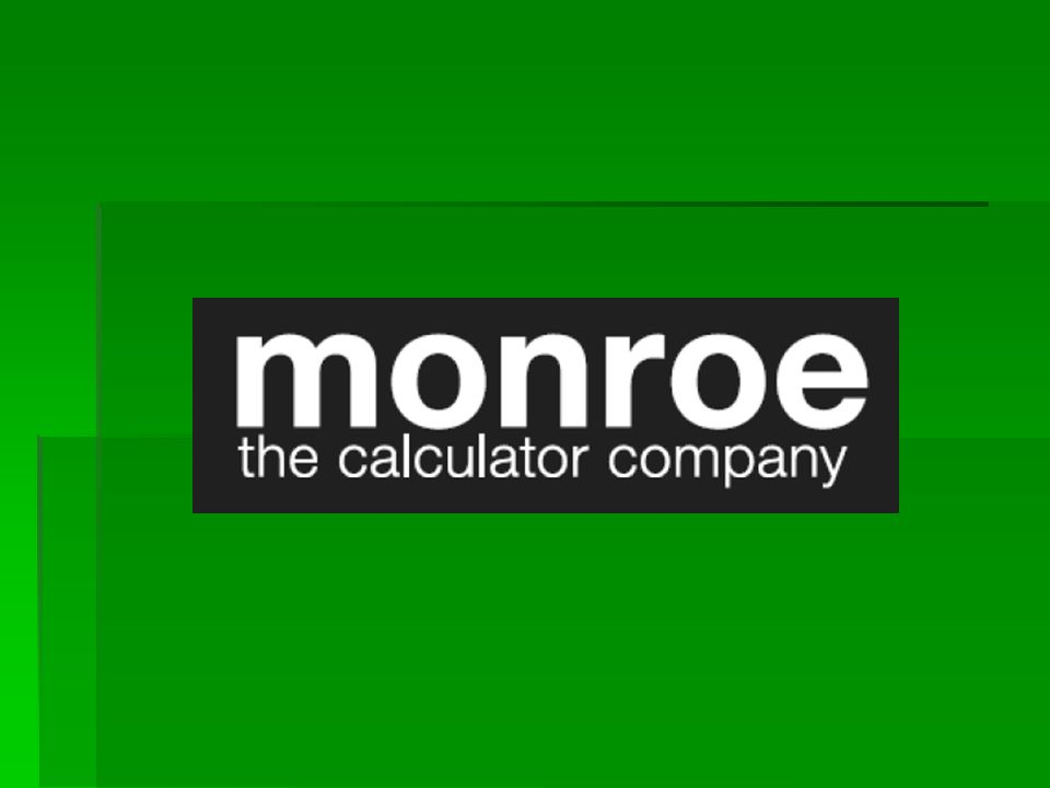 proudly introduces the new monroe 8125