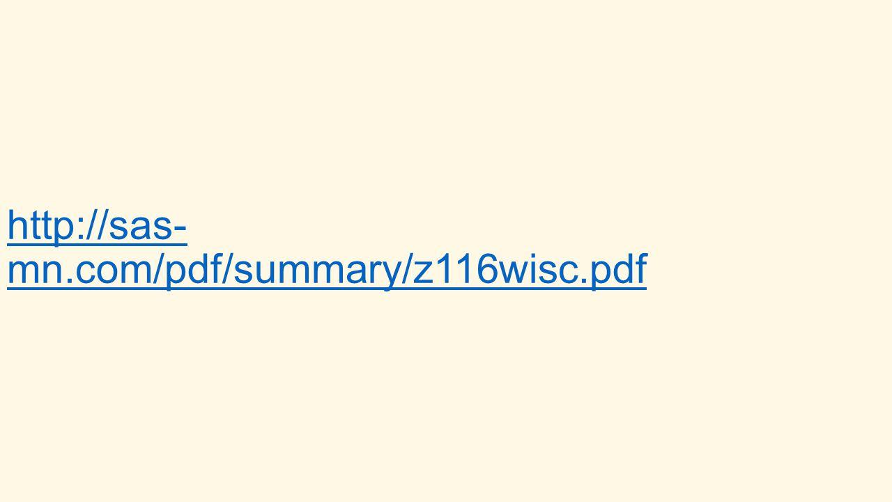 http://sas- mn.com/pdf/summary/z116wisc.pdf