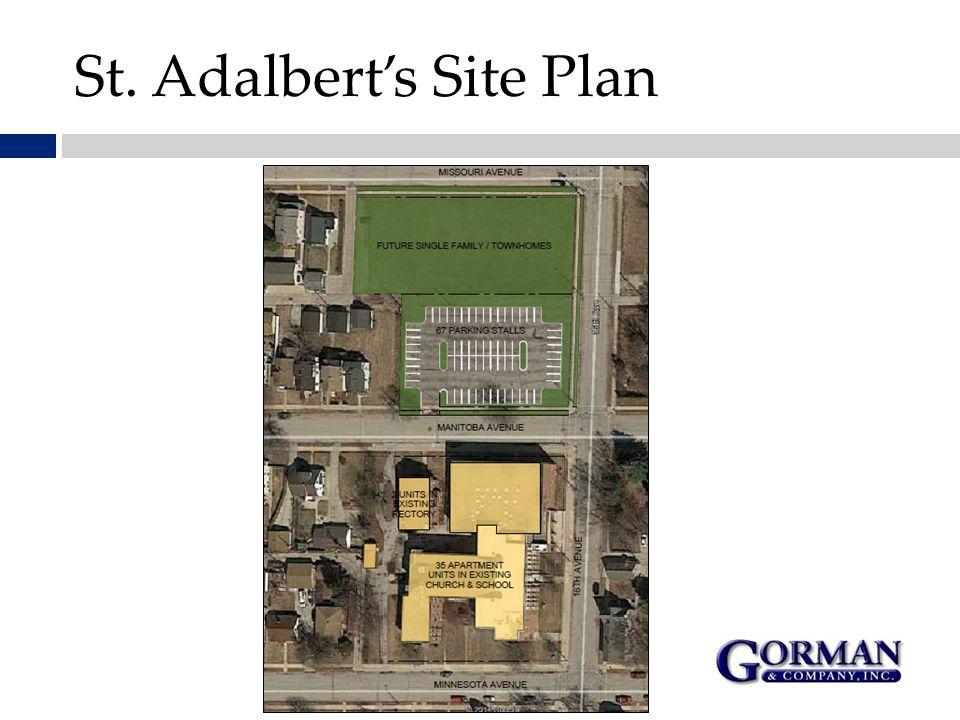 St. Adalbert's Site Plan