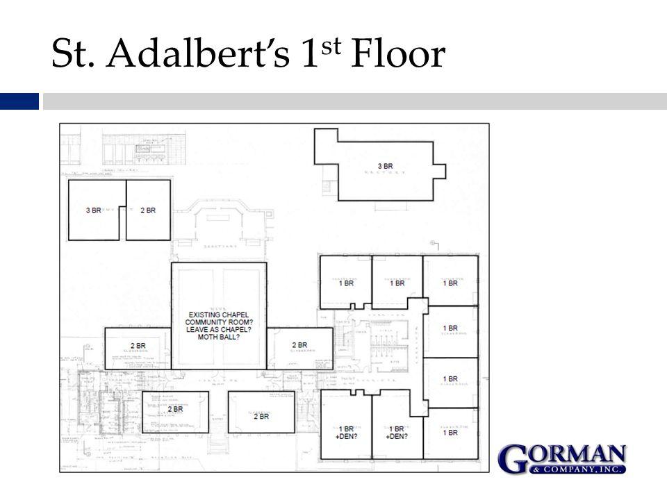 St. Adalbert's 1 st Floor