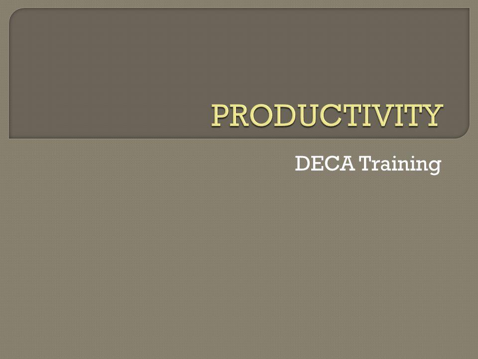 DECA Training