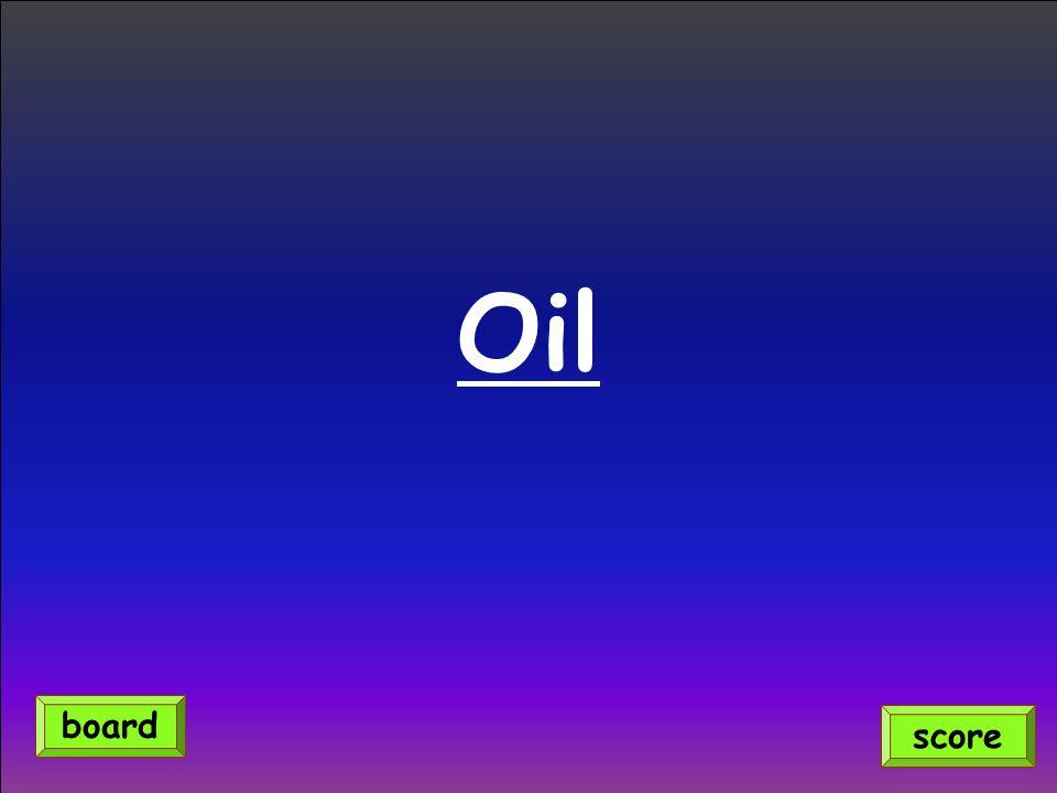 Oil score board