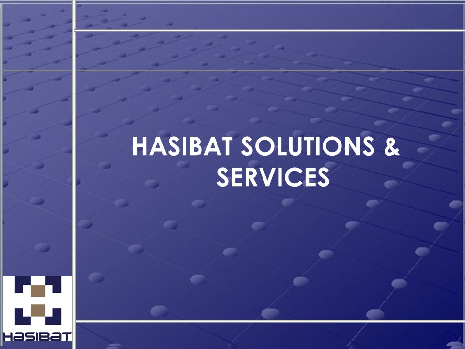 HASIBAT SOLUTIONS & SERVICES