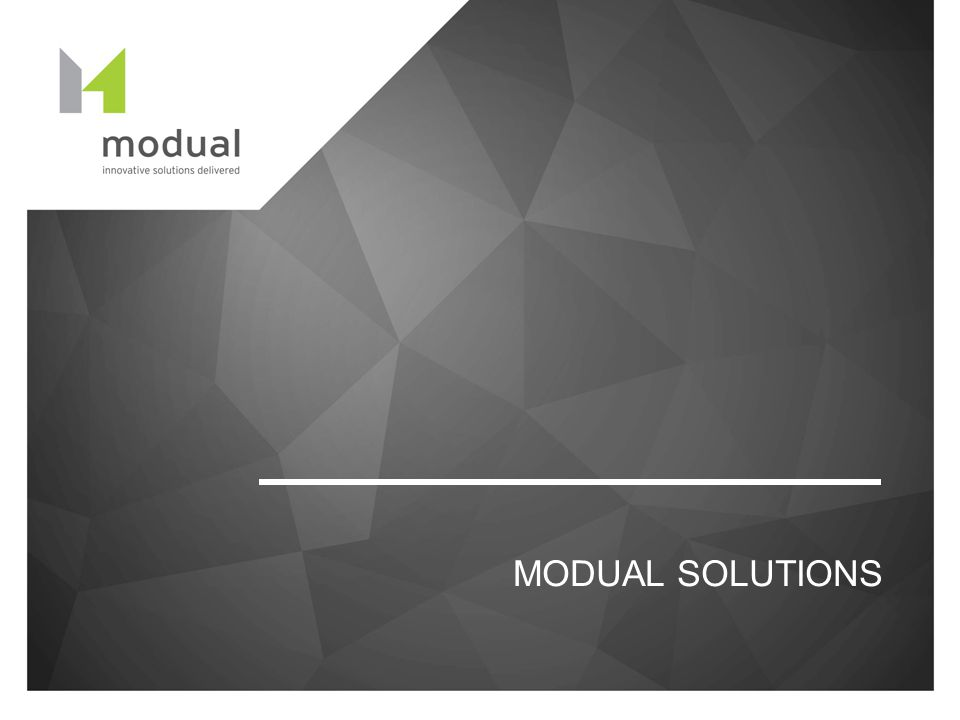 MODUAL SOLUTIONS