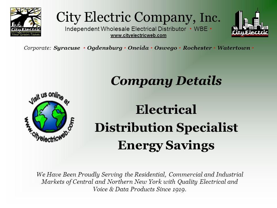 City Electric Company, Inc.