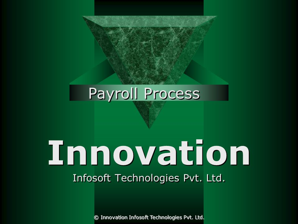 ePay slip © Innovation Infosoft Technologies Pvt. Ltd.