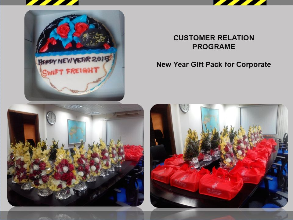 CUSTOMER RELATION PROGRAME New Year Gift Pack for Corporate