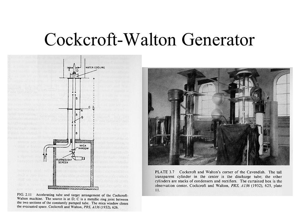 Cockcroft-Walton Generator
