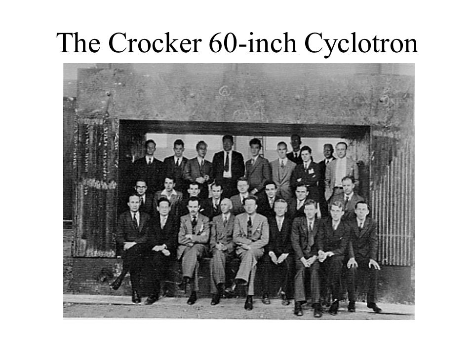 The Crocker 60-inch Cyclotron