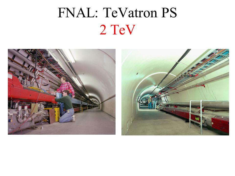FNAL: TeVatron PS 2 TeV