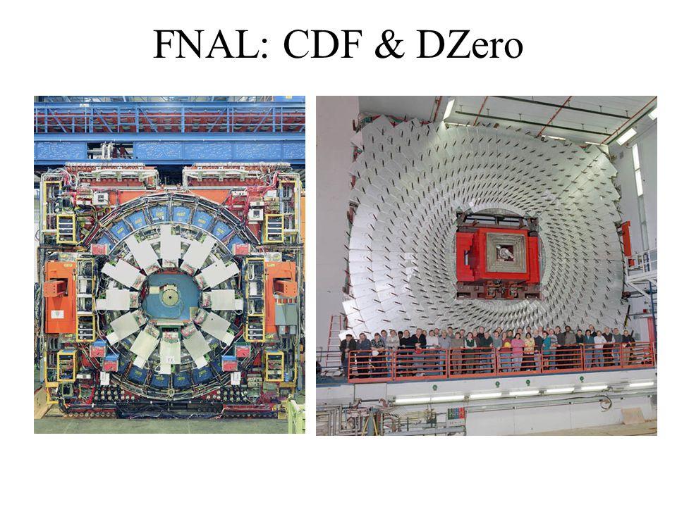FNAL: CDF & DZero