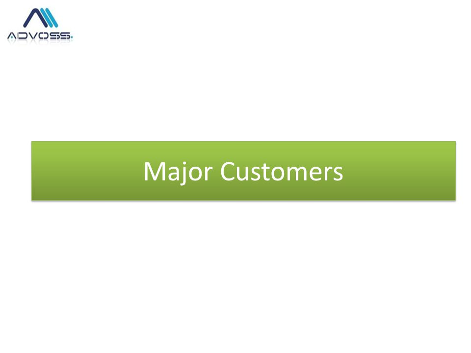 Major Customers